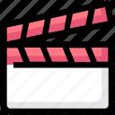 cinema, clapper, director, film, movie