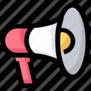 device, loud, megaphone, promotion, speaker