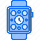 appliance, device, electronics, gadget, smart, time, watch icon