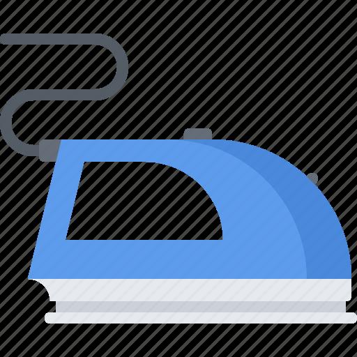 appliance, device, electronics, gadget, iron, ironing icon