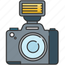camera, device, flash, image, photo, picture icon