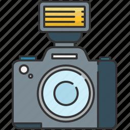 camera, device, flash, image, photo, picture icon
