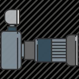 camera, device, flash, image, lense, photo, picture icon