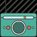 audio, device, entertainment, music, radio, sound