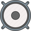 audio, device, music, sound, speaker icon
