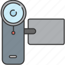 camera, device, film, lense, recorder, video icon