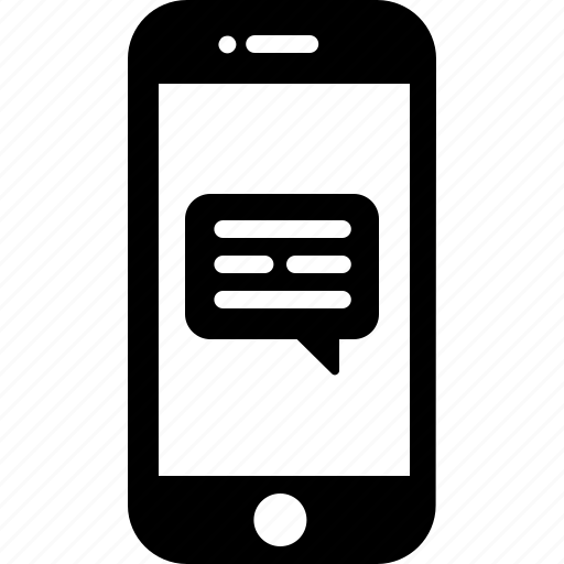 chat, device, message, phone, smart, text icon