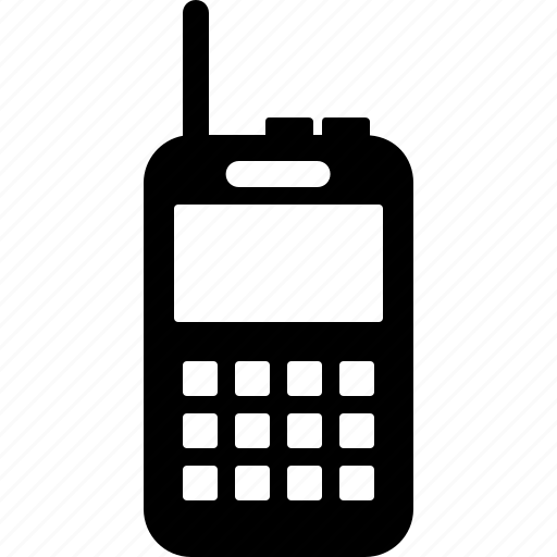 communication, device, talkie, telephone, walkie icon