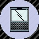 communication, device, keyboard, organizer, screen icon