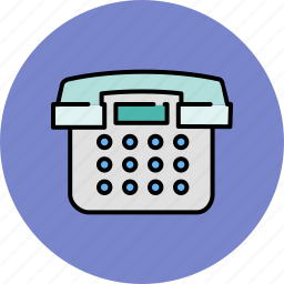 call, communication, contact, device, home, phone icon