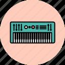 audio, device, entertainment, keyboard, music, sound