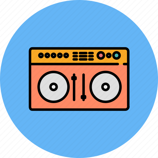audio, device, entertainment, music, player, sound, turn table icon