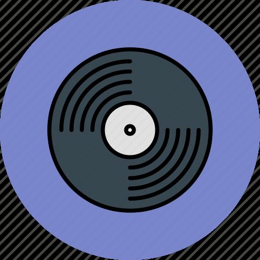 audio, device, entertainment, music, record icon