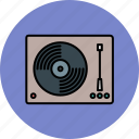 audio, device, entertainment, music, player, record icon