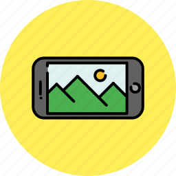 device, gallery, image, phone, photo, smart icon