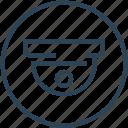 camera, cctv, device, roof, security, surveillance icon