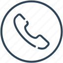 answer, call, device, handset, phone icon