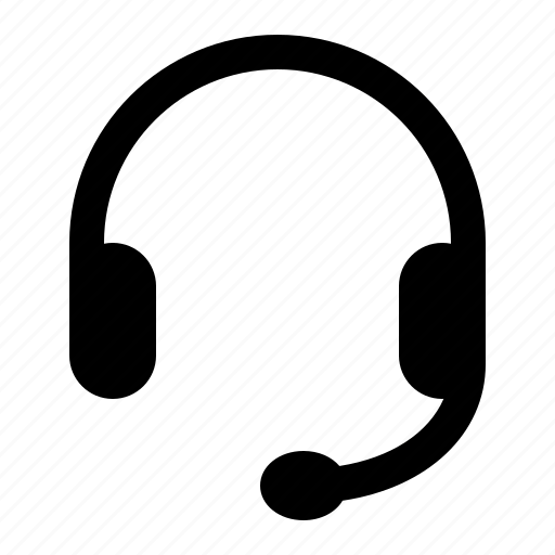call centre, cold call, headset, operator, telephony, watchkit icon