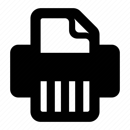encryption, privacy, security, shred, shredder, watchkit icon