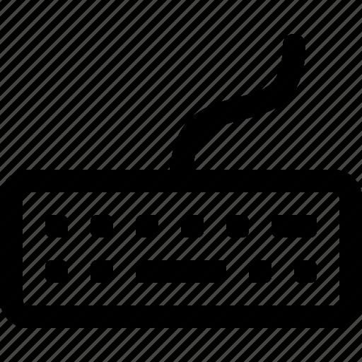 bluetooth keyboard, keyboard, type, wireless keyboard, work icon