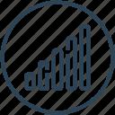 connection, excellent, internet, phone, signals icon