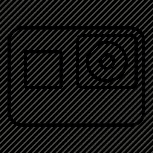 cam, camera, digital, gopro, hero5 icon