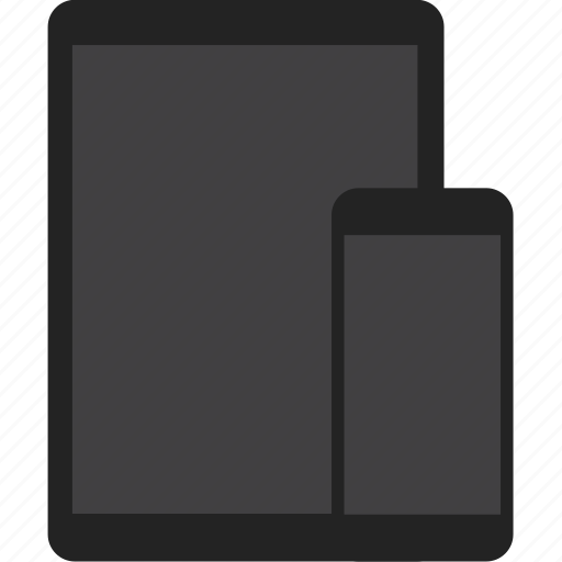 adaptive, devices, phone, responsive, tablet icon