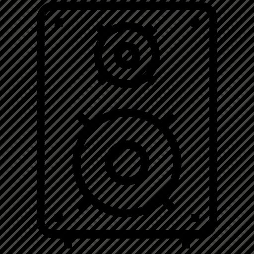 audio, device, electronics, music, sound, speaker, technology, volume icon icon