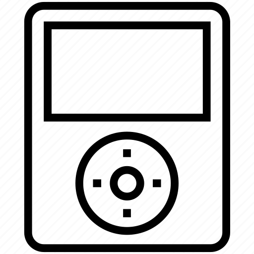 audio, device, electronics, ipod, music, player, sound, technology icon icon