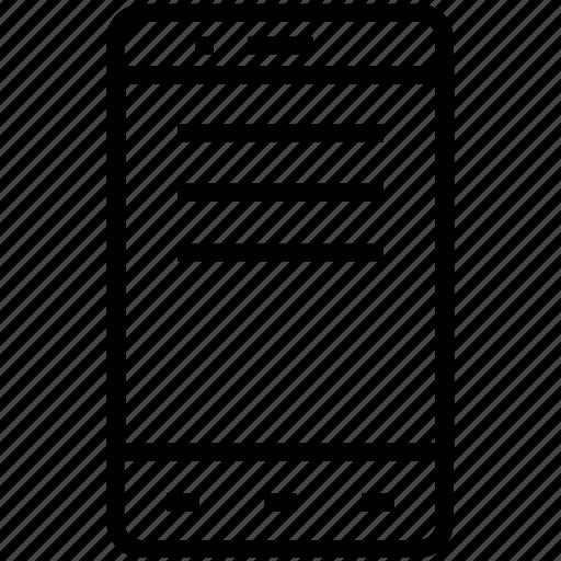 device, mobile, phone, smartphone icon icon