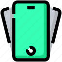 cellphone, devices, mobile, phone, smartphone, tilt icon