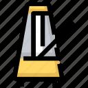 device, instrument, metronome, music, sound icon