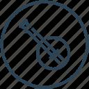 audio, banjo, device, instrument, music icon
