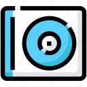 cd, device, dj, music, turntable, vynil icon