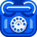 communications, devices, ios, retro, technology, telephone icon