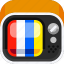 broadcast, devices, entertainment, ios, monitor, television icon