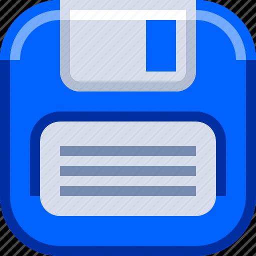 devices, diskette, floppy disk, ios, retro icon