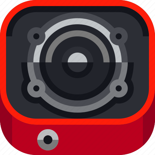 beat, devices, ios, loudness, music, sound, speaker icon
