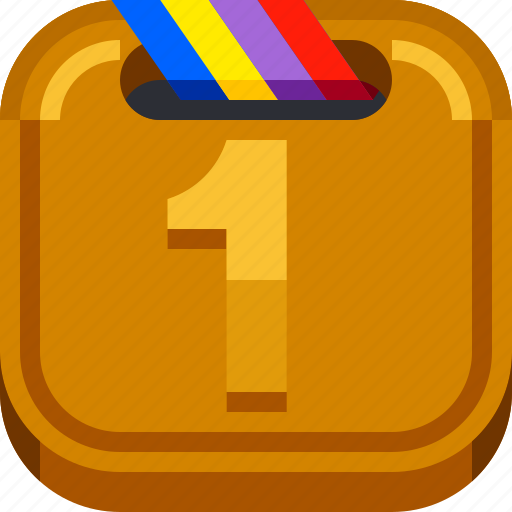 champion, devices, gold, honor, ios, medal, winner icon