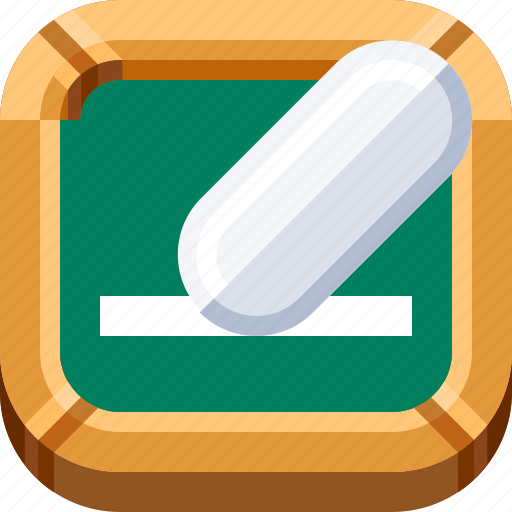 campus, chalk, chalkboard, devices, ios, school, student icon