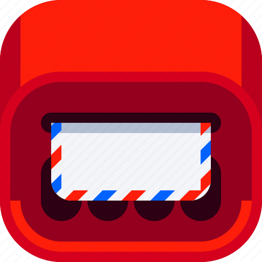 communications, devices, ios, mail box, message icon