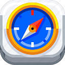 adventures, compass, devices, extreme, ios, outdoor, sport icon