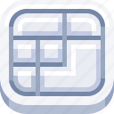 computer, devices, gadget, ios, keyboard, technology icon