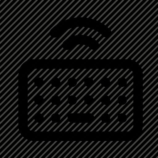device, electronic, keyboard, multimedia, technology icon