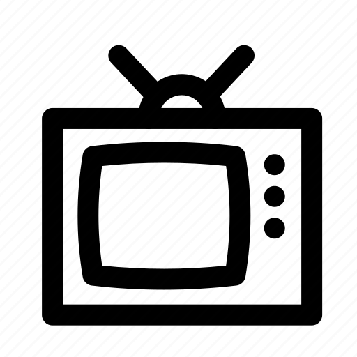 device, electronic, multimedia, technology, television, tv icon