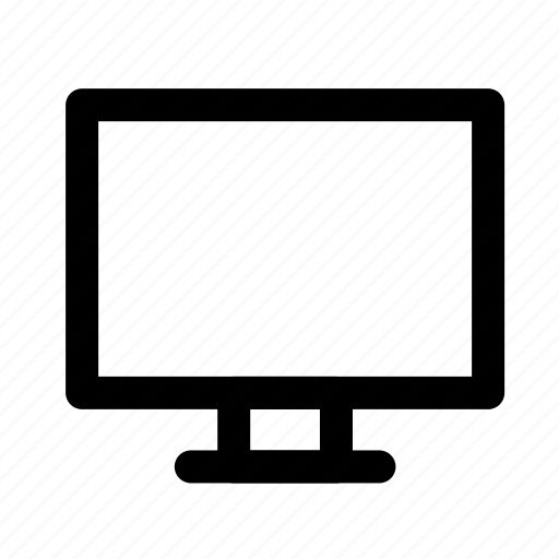 device, electronic, monitor, multimedia, technology, television, tv icon