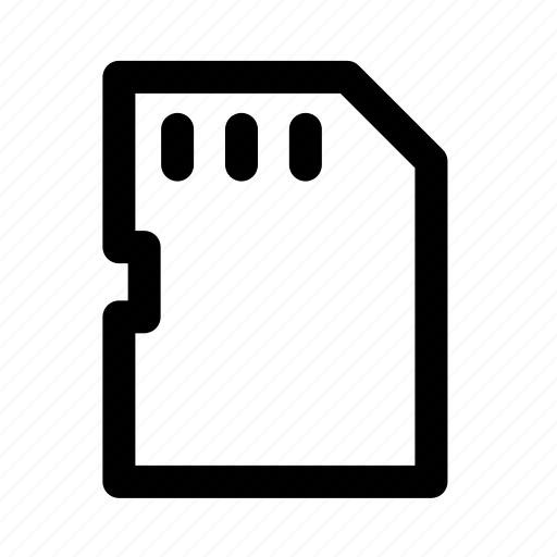 adapter, card, device, electronic, flash, multimedia, technology icon