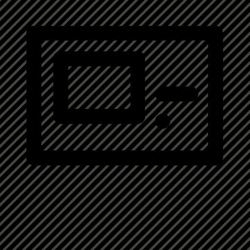 device, electronic, multimedia, technology icon