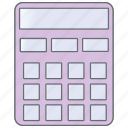 calculator, computer, device, technology, utility icon