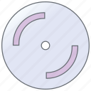blu ray, dvd, storage, cd, record, disc, technology icon